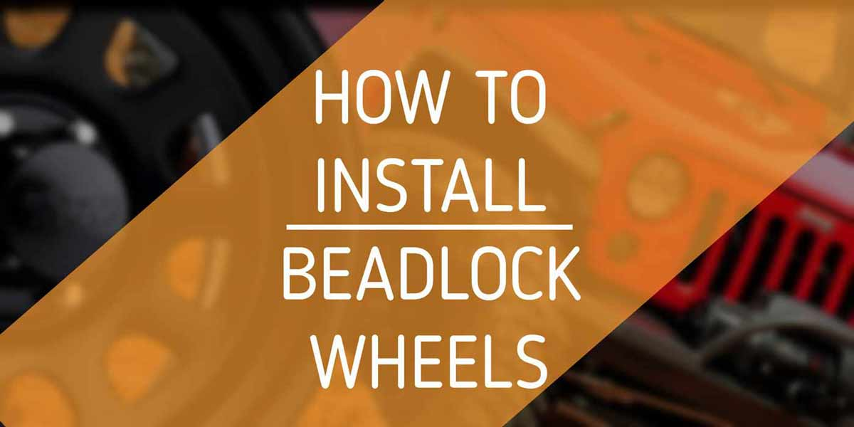 How To Install Beadlock Wheels