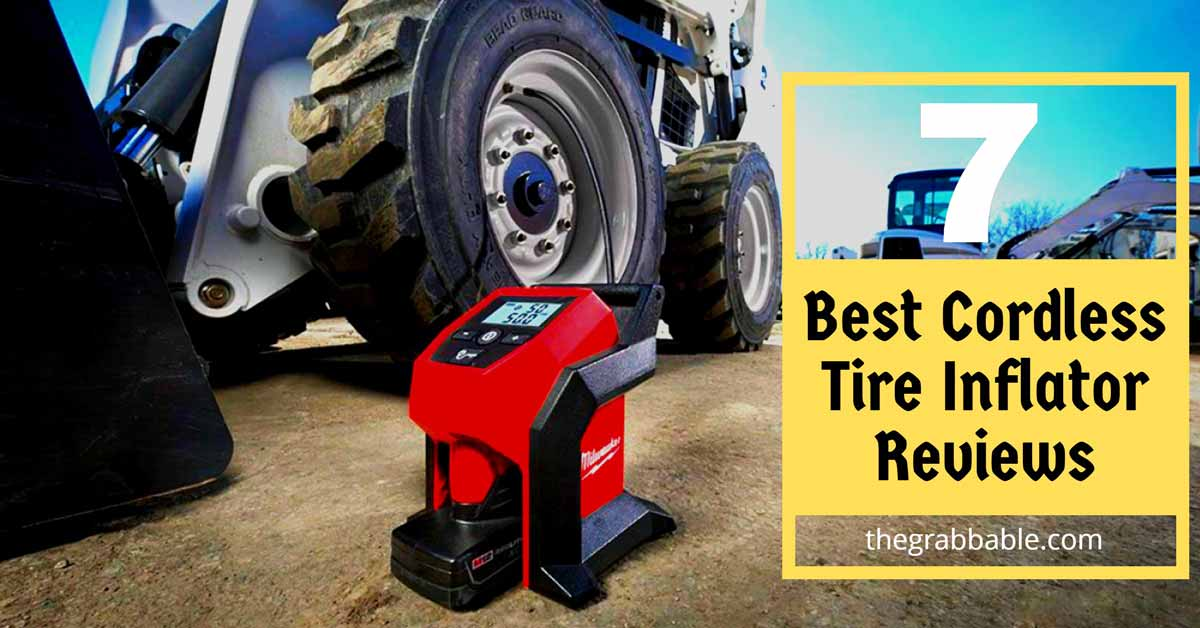 Best Cordless Tire Inflators