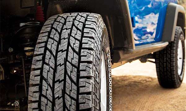Best All Terrain Tires For Jeep Wrangler